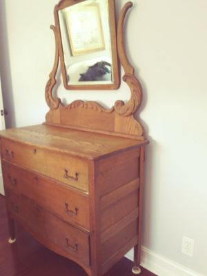 Oak dresser antique for Sale in West Palm Beach, FL