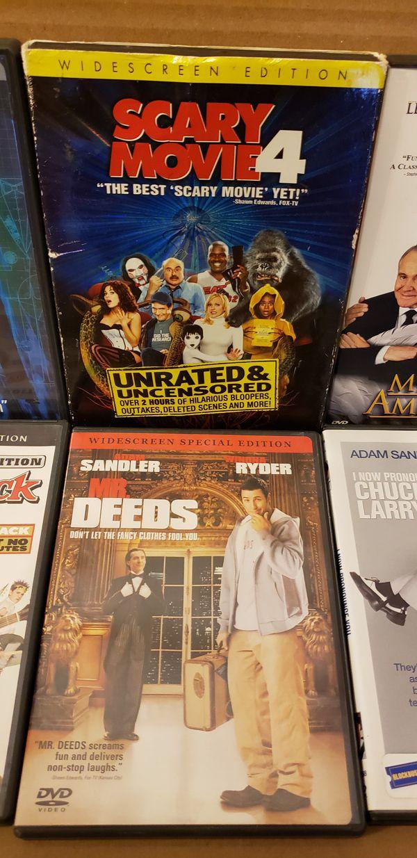 8 DVD MOVIES