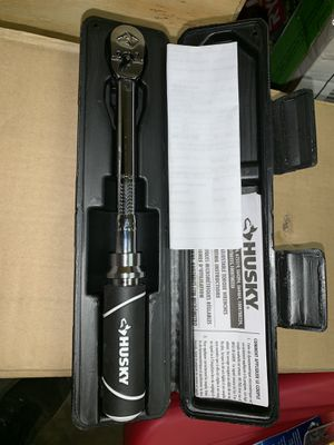Husky 1/4 inch Drive Torque Wrench for Sale for sale  Charlotte, NC