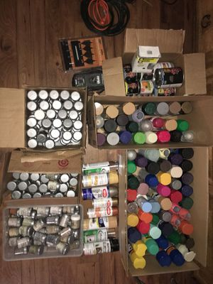 Spray, Oil and Color Samples- Tons of Paint for Sale in Winter Park, FL