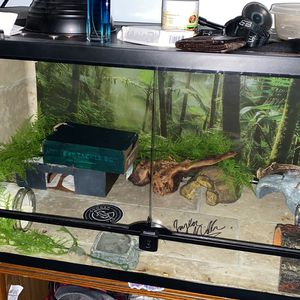 50 Gallon Vent Top Open Doors Terrarium for Sale in Fond du Lac, WI