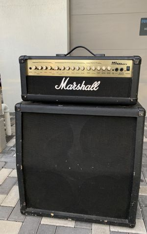 Marshall MG 100 HDFX Head Amp+ Cab for Sale in Davie, FL