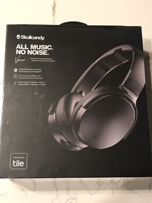 NEW Skullcandy Venue Active Noise Cancelling Wireless Headphones Black for Sale in Phoenix, AZ