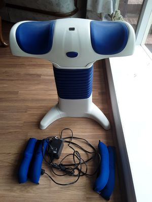 Back to life machine with ankle weights. for Sale in Mount Holly, NC