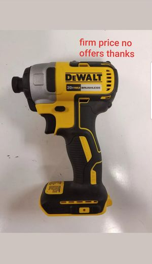 """Dewalt dcf787b brushless motor 1/4"""" impact Driver battery or charger not included for Sale in Upper Marlboro, MD"""