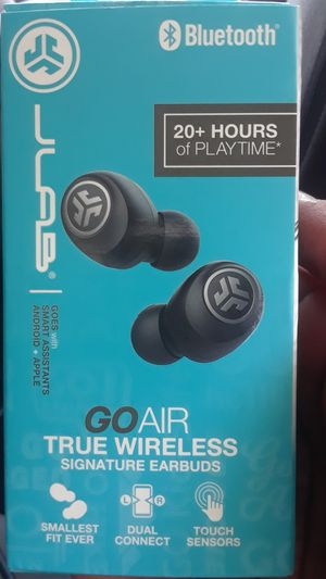 Jlab go air wireless earbuds for Sale in Stockton, CA