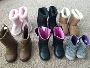 Girls boot lot for Sale in Mount Holly, NC