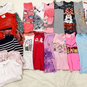 Girl 6-7T Long Sleeve Tee Lot sweater vest Shirts for Sale in Chino Hills, CA