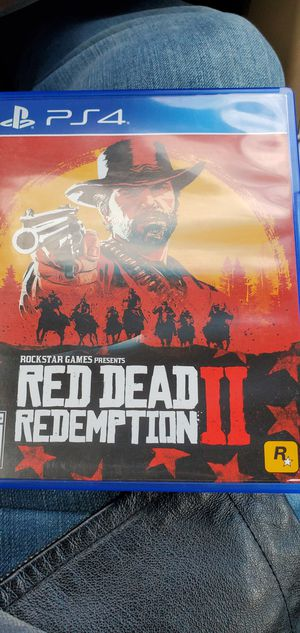 Red dead redemption 2 ps4 for Sale in Providence, RI