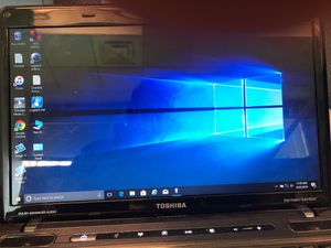 Toshiba intel I5 laptop with windows 10 pro for Sale in Gibsonia, PA