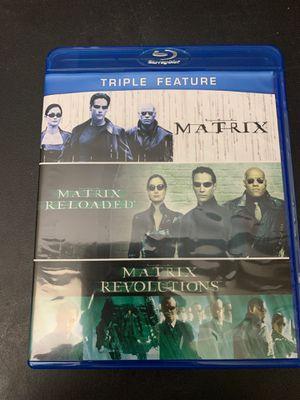 Matrix Triple Feature (Blu-Ray) for Sale in Fairfax, VA