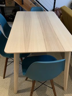 IKEA Modern Mid-Century Dining Table Chair Furniture Set for Sale in San Francisco,  CA