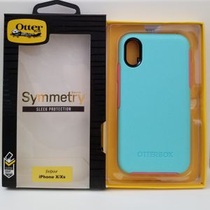 iPhone X/Xs otterbox symmetry Aqua for Sale in Canyon Country, CA