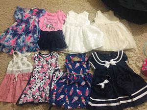 Toddler girls dress lot size 3T-4T for Sale in Cedar Park, TX