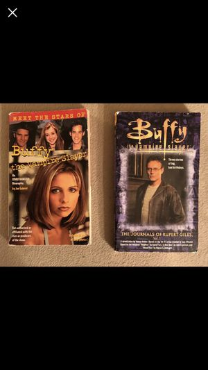 Buffy the Vampire Slayer - Books for Sale in US