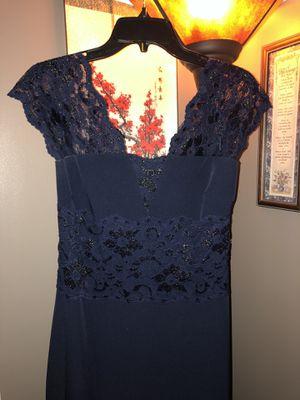 Dark Blue Floor Length Dress for Sale in Franklin, TN
