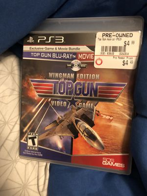 Top gun wingman edition PS3 for Sale in Fort Worth, TX