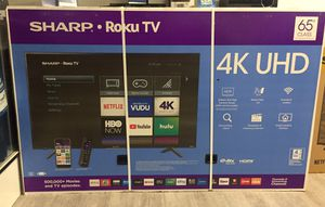 65 INCH SHARP ROKU 4K SMART TV for Sale in Chino Hills, CA