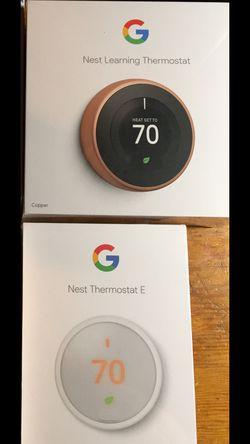 Google thermostat for Sale in Orangeburg,  NY
