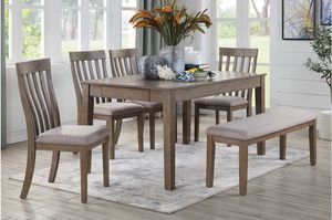 DINING TABLE WITH 4 CHAIRS & BENCH for Sale in San Ramon, CA