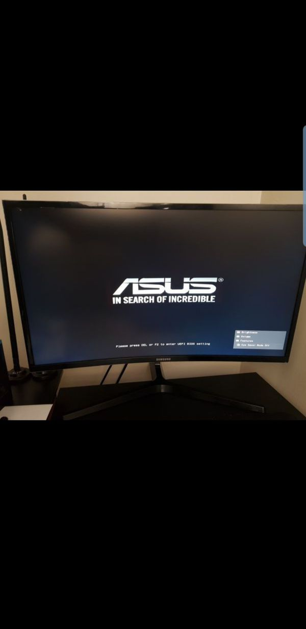 29 inch Samsung curved monitor PLEASE READ AD