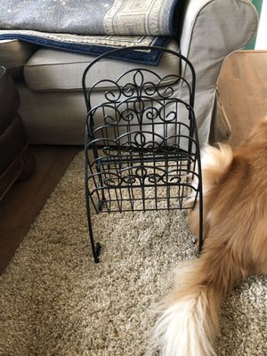 Metal magazine rack for Sale in Potomac Falls, VA