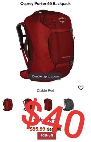 Osprey Porter 65 Backpack for Sale in San Jose, CA