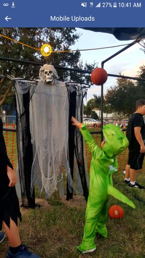 Dino Halloween Costume size 5t 6t worn last year for 2 hours for Sale in INDIAN RK BCH, FL