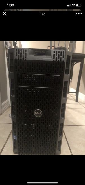 Power edge t320 {2 servers } both running no Hd or OS for Sale in Dade City, FL