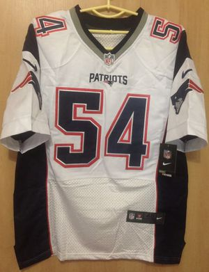 New England Patriots #54 Bruschi Jersey for Sale in Manchester, CT