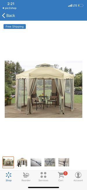 Outdoor Gazebo Canopy Patio Garden Backyard Shade Tent Gilded Grove Polyester for Sale in Glendale, AZ