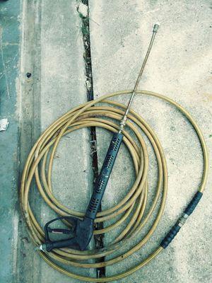 Pressure washer hose and gun for Sale in San Antonio, TX