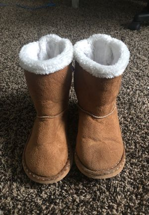 Size two girls slipper boots for Sale in Rigby, ID