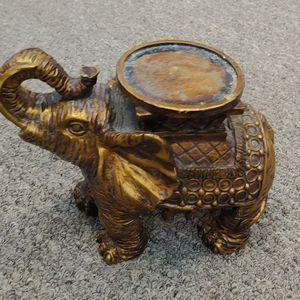 Gold Elephant Candle Holder for Sale in Burlington, NC