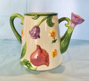 Papel Giftware Watering Can Flower Pot for Sale in San Antonio, TX