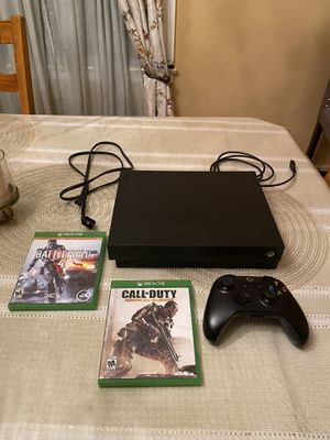 Xbox one x 1tb for Sale in Providence, RI