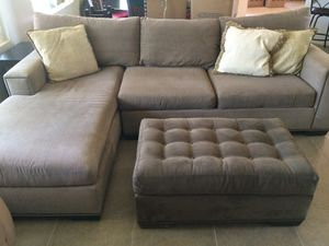 Sofa with Chaise Lounge for Sale in La Quinta, CA