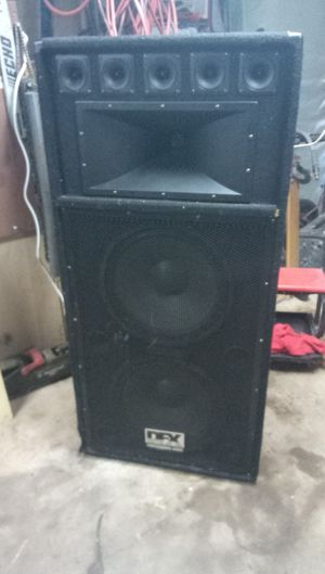 2 DFX Audio 2000 watt Speakers for Sale in Riverdale, GA