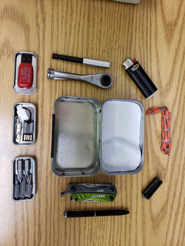 EDC Altoids Tin W/ Case