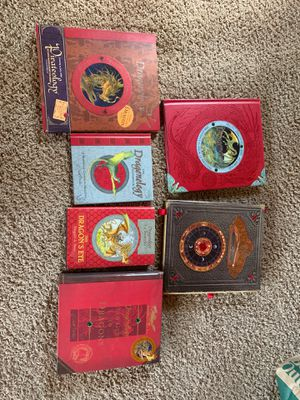Dragonology Book set + Wand Makers Guide Book for Sale in PA, US