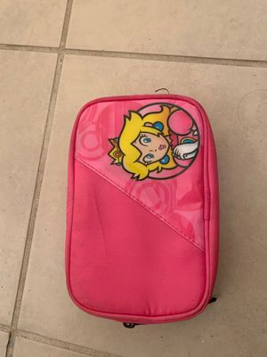 Princess peach Nintendo 3DS and DS pouch for Sale in El Monte, CA