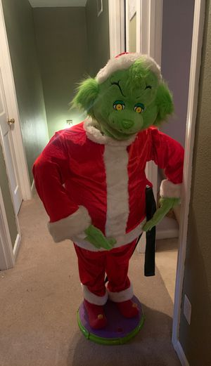 Talking grinch for Sale in Portland, OR