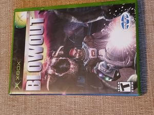BlowOut (Microsoft Xbox, 2003) Game includes the instruction manual for Sale in Chambersburg, PA