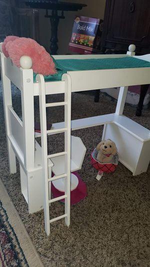 """18"""" Doll College Dorm Double Bunk Desk for Sale in Lodi, CA"""