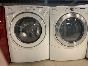 WHIRLPOOL WASHER AND ELECTRIC DRYER for Sale in Akron, OH