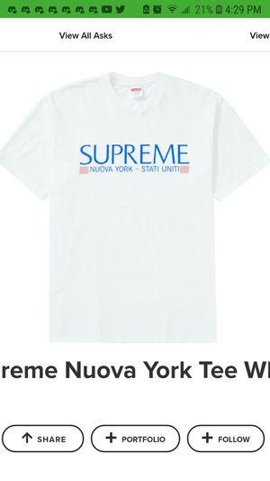 SUPREME- Nueva York (t shirt) white for Sale in Tampa, FL
