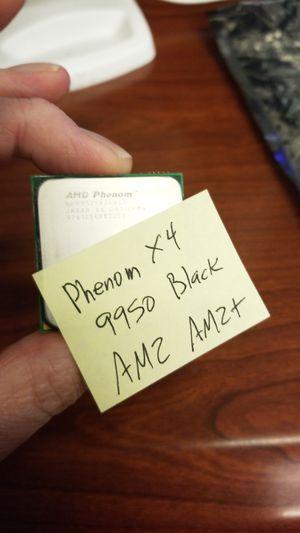 AMD Phenom X4 9950 Black Edition processor for Sale in Pflugerville, TX