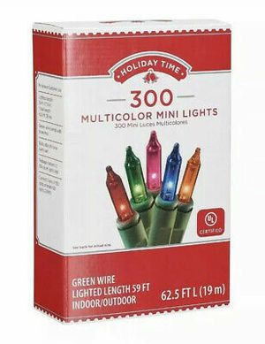 Christmas lights 300 ct for Sale in Temecula, CA