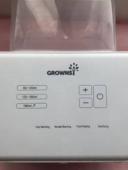 Grownsy Bottle Warmer And Sterilizer for Sale in Puyallup,  WA