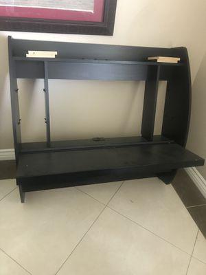 Wall mounted office/school desk. 43 W x 40 D x 40H for Sale in Seal Beach, CA